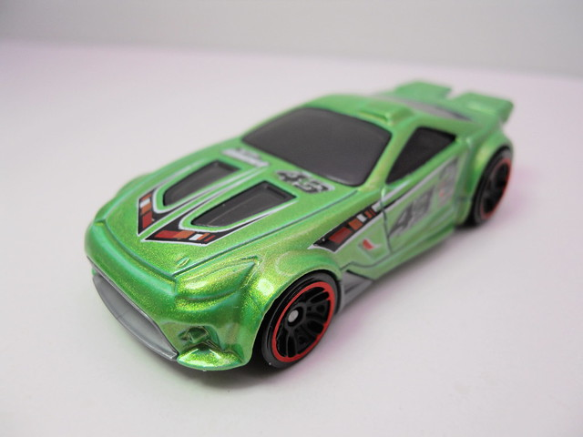 hot wheels scorcher green (3)