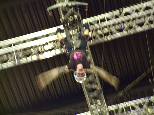 Me in Aerial Harness