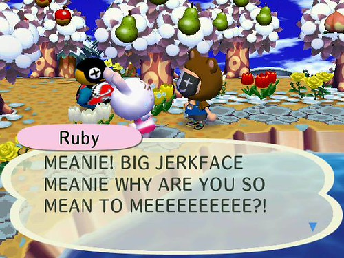 Ruby has issues.