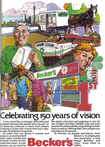 Vintage Ad #753: Celebrating 150 Years of Vision With Dairy Products by jbcurio.