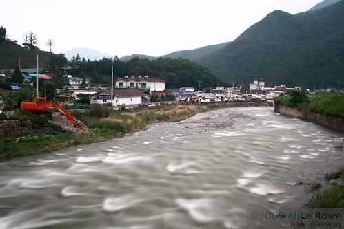 The full rivers of Taebaek