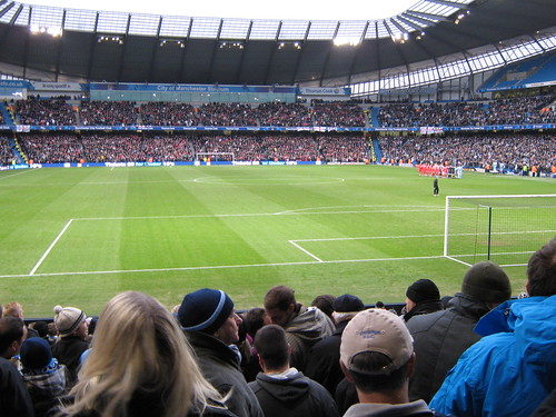 Looking towards a fully-occupied South Stand (vs. Forest, 3 Jan 08)