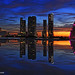 Miami sunset explosion -I