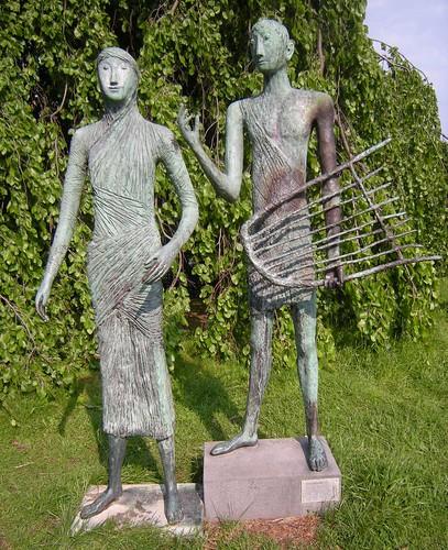 Ursula Querner - Orpheus und Eurydike