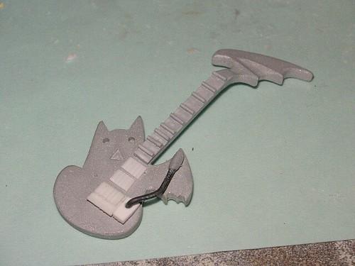 The guitar prototype