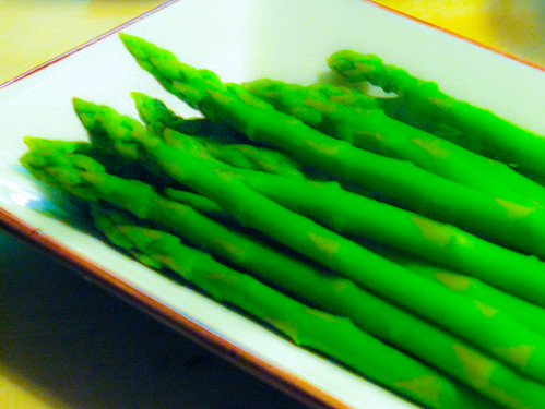 artsy asparagus