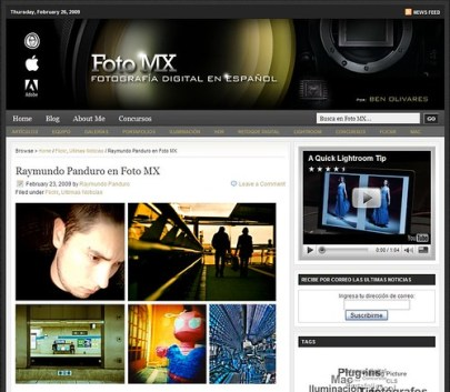 Colaboracion para FotoMX (by RayPG)