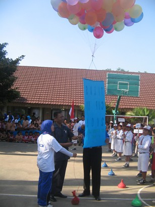 pelepasan balon by you.