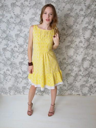 Mata Traders - dress_oakpark_yellow