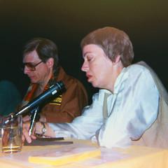 Harlan Ellison and Ursula Le Guin