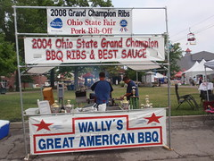 Wallys - winner for best pork ribs (note they won in 2008 as well)