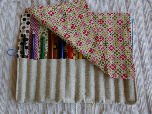 pencil roll with flap by you.