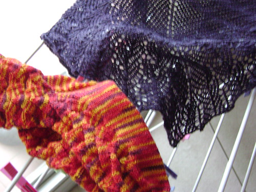 recent knitting - 13 Sept