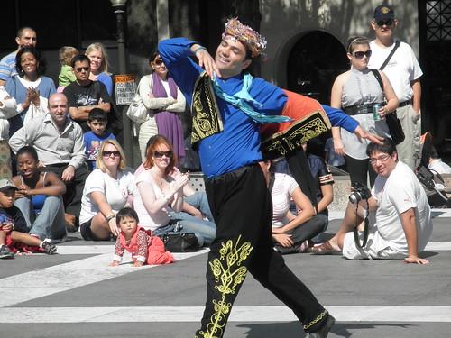 Dancer at the Turkish Festival