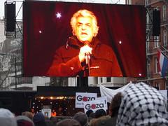 Stop the Slaughter in Palestine Demo- Tariq Ali