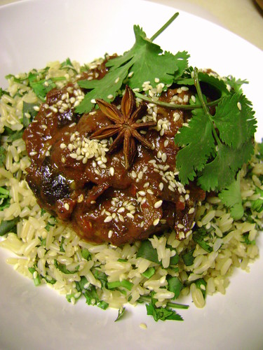 Slow Cooked Lamb with Prunes and Chilli