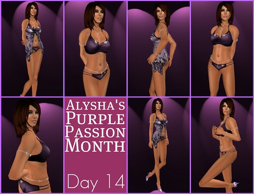 ALY'S PURPLE PASSION MONTH:  Day 14