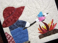 Gallery of Girlfriends by Anna Bates May Gallery Exhibit @Quiltworks
