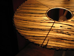 Casting Light, vintage 1950s lamp at the Riverview Theater, Minneapolis, Minnesota, August 2007, photo © 2007-2009 by QuoinMonkey. All rights reserved.