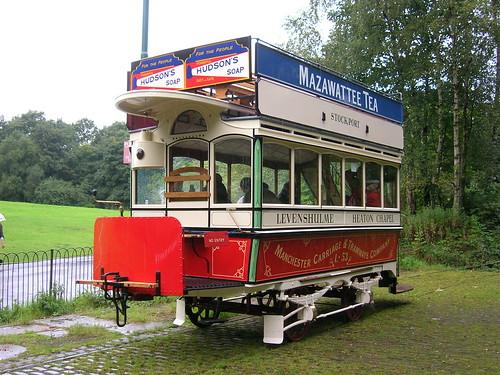 Double Deck Tram, Heaton Park