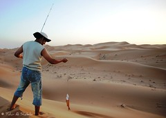 Fishing in The Desert