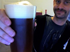 The beer that I made is now beer!