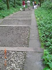 碎石的步道