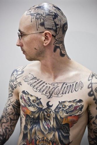 More tattoos more sex anthropologyworks for Full head tattoo