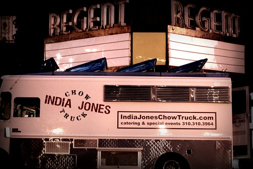 India Jones Chow Truck at the DTLA Artwalk October Edition by you.
