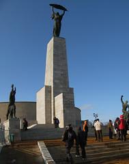 La statua della liberta, Budapest.