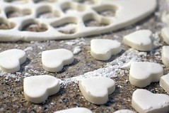 Heart-Shaped Peppermint Patties