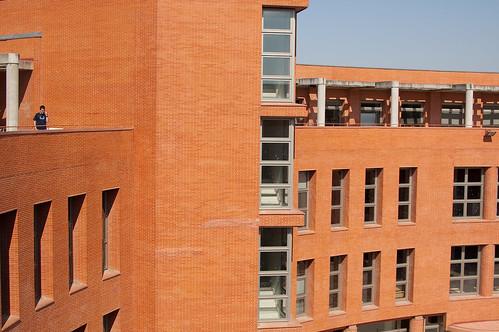 Fachada interior de la escuela politécnica