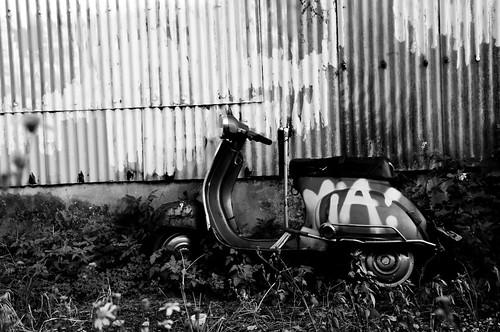 Graffiti'd and Abandoned.