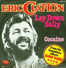 Clapton, Eric - 7 - Lay Down Sally - D - 1977