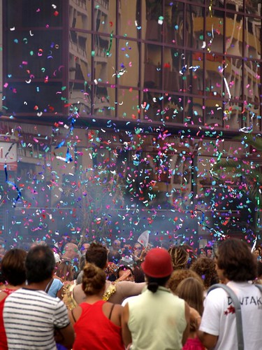 Ticker Tape Start to the Parade
