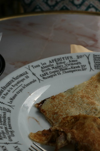 crepes...