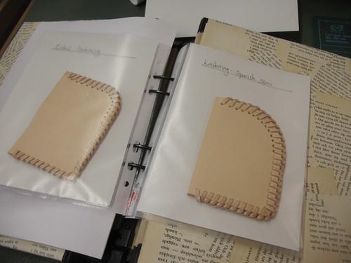 leatherworking - seams 2