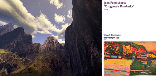 Joan Fontcuberta - Orogenesis Kandinsky