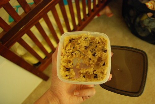 cookie dough damage