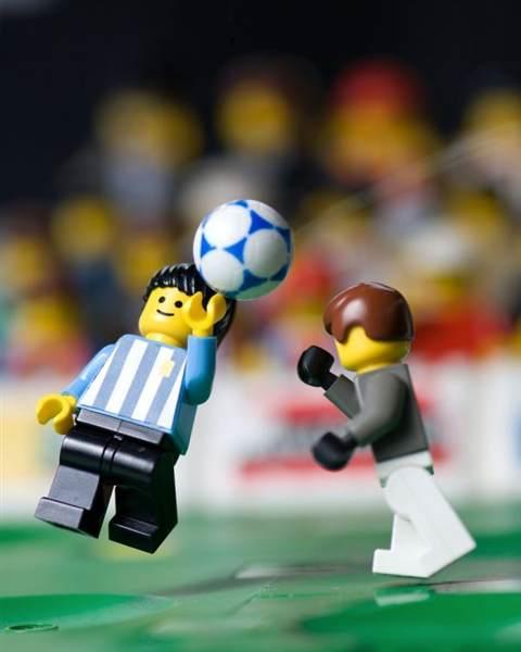 Mano de Dios Lego