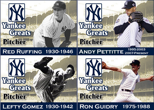 Yankee Pitchers
