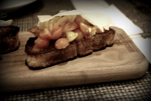 Bruschetta at Drago Centro by you.