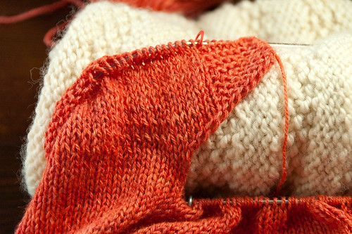 Chiton Pullover One Sleeve Section Divided