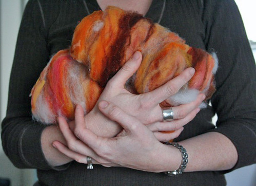 365.247 - Orange you glad it's Handspun February?