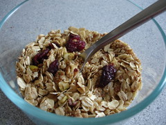 Fabulous granola (thanks, molly!)