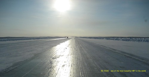 ICE_ROAD_one_of_the_most_beautiful_HWY_in_the_world by you.