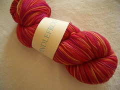 Spindlefrog Merino Sock Yarn