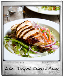 Asian Teriyaki Chicken Salad