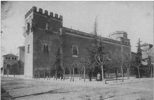 Plaza de las Bernardas y palacio arzobispal