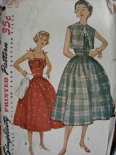 Simplicity 4708 - 1954